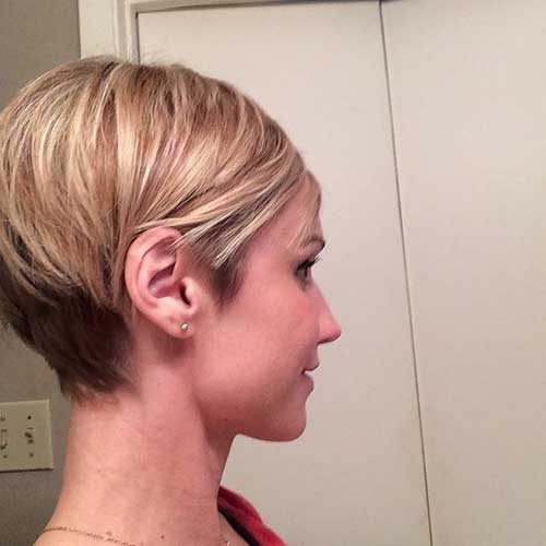 Straight Short Haircut for Women