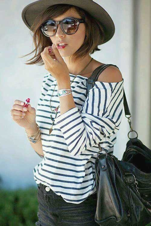 Street Fashion Super Short Haircuts for Women