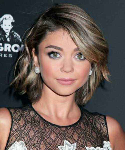 Super Short Side Swept Hairstyles for Women