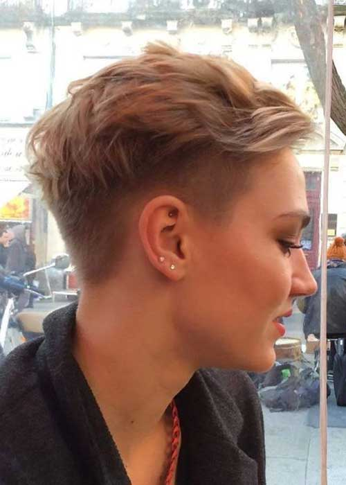Undercut Haircuts Pixie Style
