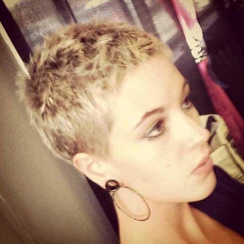 Very Short Buzz Cut Haircuts Female