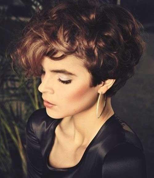Best Very Short Curly Hair