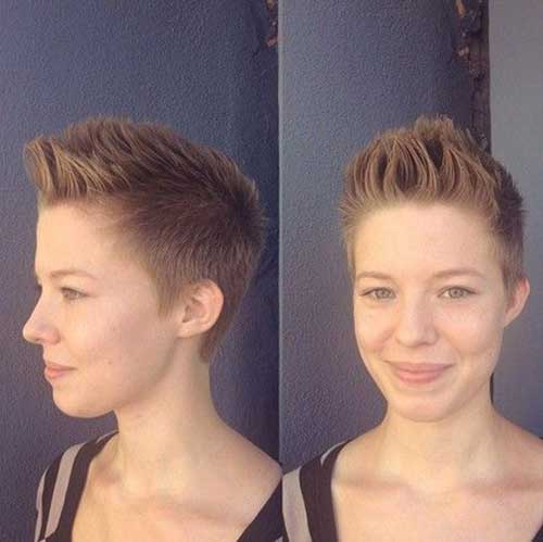 Very Short Boyish Haircuts Female