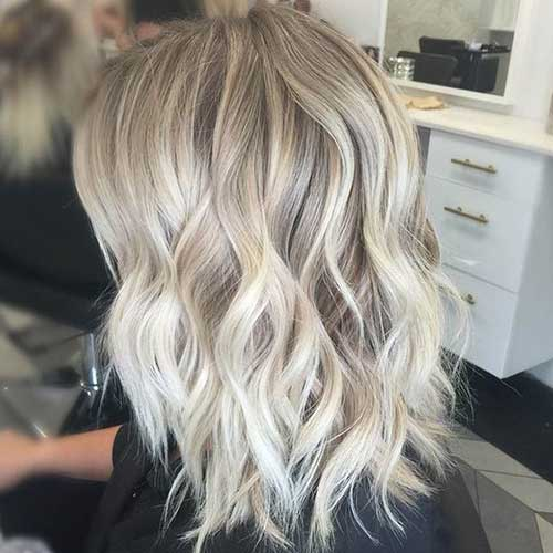 Super Wavy Hair Short Haircuts 2015