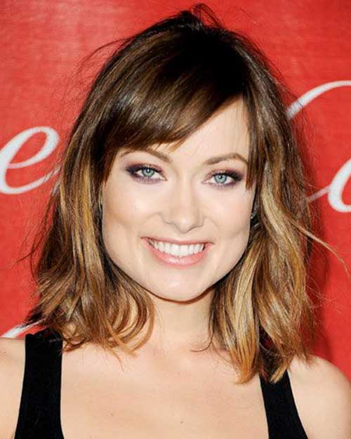 Wavy Short to Medium Length Haircuts