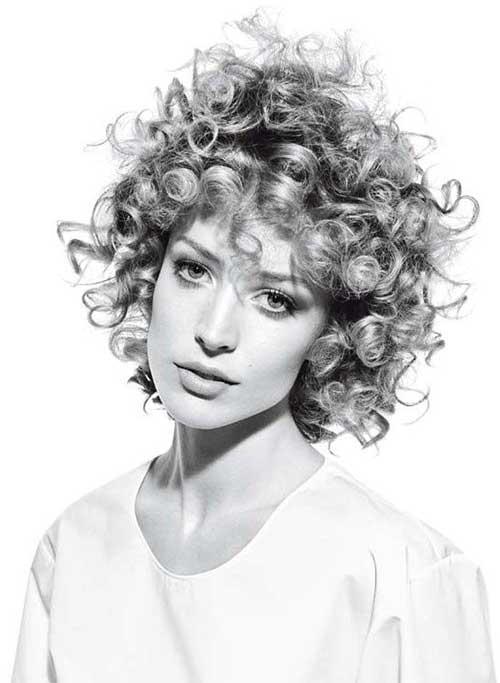 Short Curly Hair-12