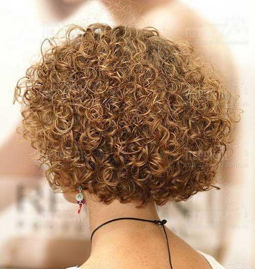 Short Curly Hair-16