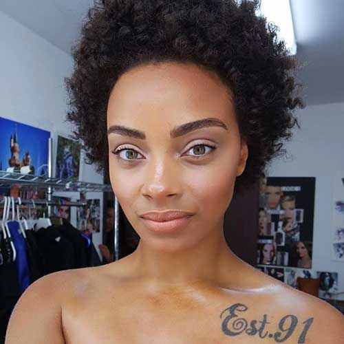 25 New Afro Hairstyles 2017