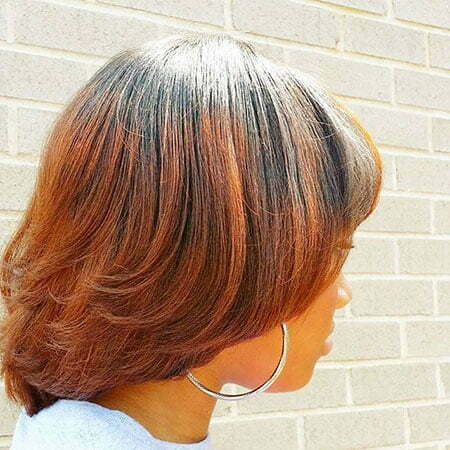 Copper Ombre Hair