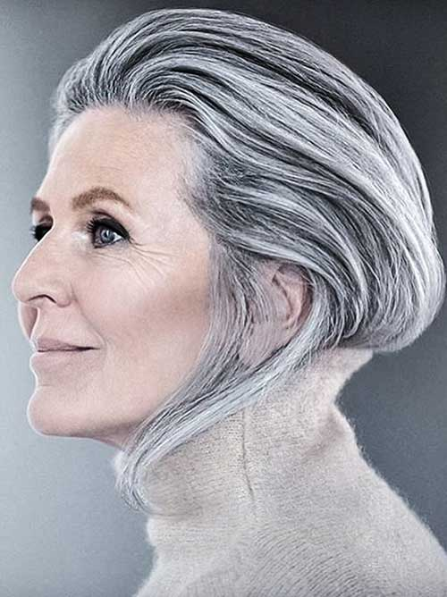 Short Hair Styles For Mature Woman 67