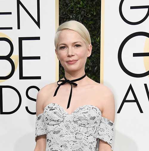 Celebrities with Short Hair Golden Globe