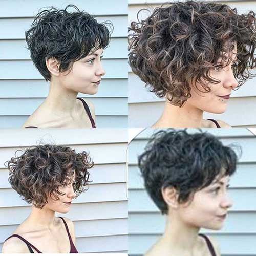 Styling Short Curly Hair Gorgeous Short Curly Hair Ideas You Must See  Short Hairstyles .