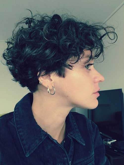 short haircut for curly hair gorgeous curly hair ideas you must see 1269 | Short Cut for Curly Hair