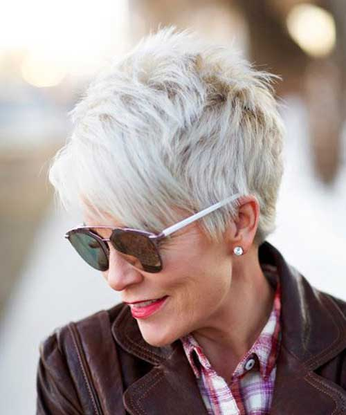 Pixie cut for mature ladies