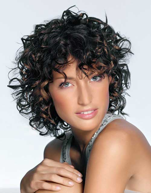 Latest Curly Short Hairstyles 2015-10