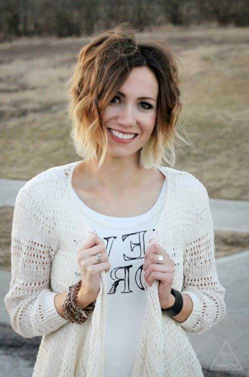 Ombre Hair Color For Short Hair-10