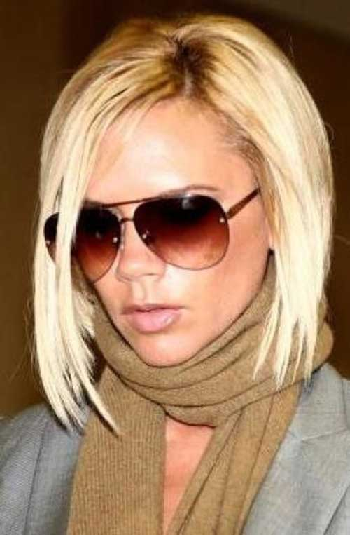Victoria Beckham Short Blonde Hair-10
