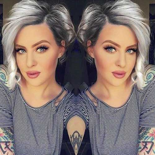 Short Hair for Round Faces-11