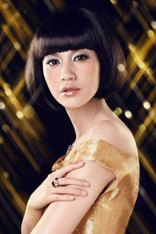 Astounding Chinese Bob Hairstyles 2015 2016 Short Hairstyles 2016 2017 Hairstyles For Women Draintrainus
