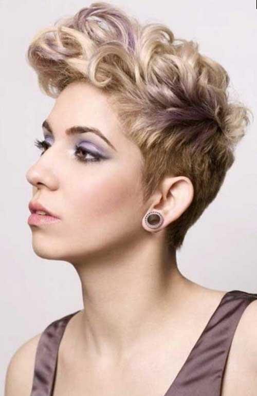 Fabulous Cute Curly Short Hair Hairstyles Short Hair Fashions Hairstyles For Women Draintrainus