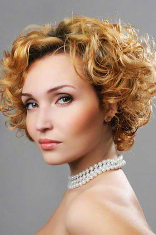 Latest Curly Short Hairstyles 2015-12