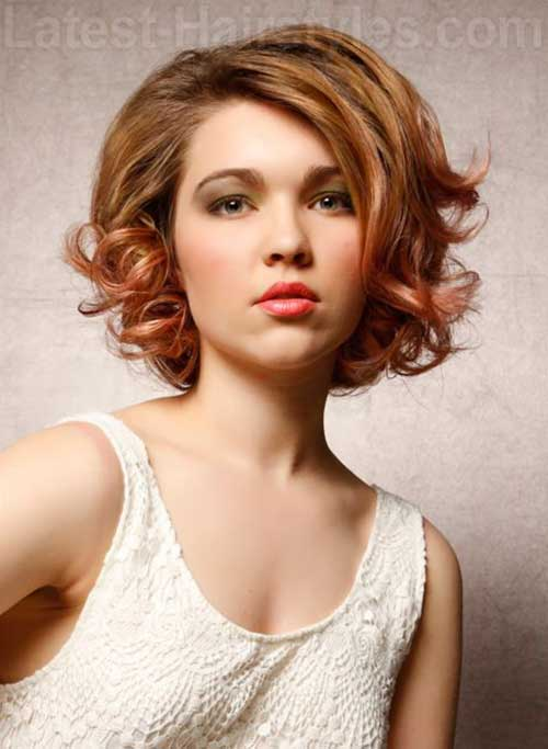 Astonishing 15 Short Curly Hair For Round Faces Short Hairstyles 2016 Short Hairstyles Gunalazisus