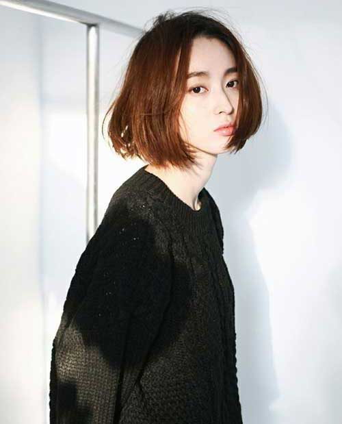 Short Haircuts for Asian Women-13