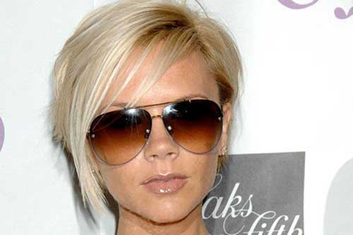 Victoria Beckham Short Blonde Hair-13