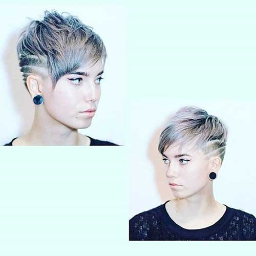 Short Hairstyles for Girls - 14