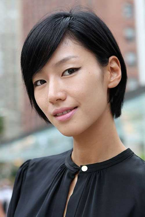 Admirable Chinese Bob Hairstyles 2015 2016 Short Hairstyles 2016 2017 Hairstyles For Women Draintrainus
