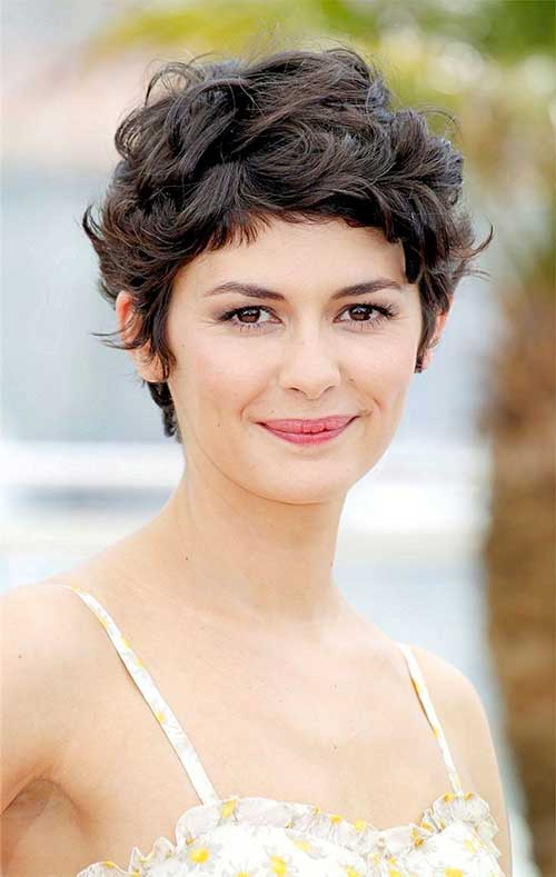 Cute Curly Hairstyles For Short Hair-14