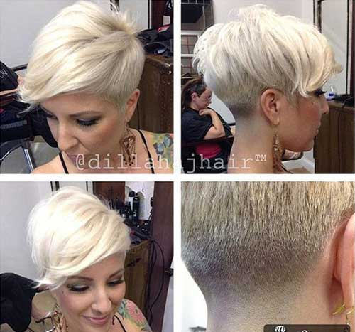 Short Blonde Hairstyles-14
