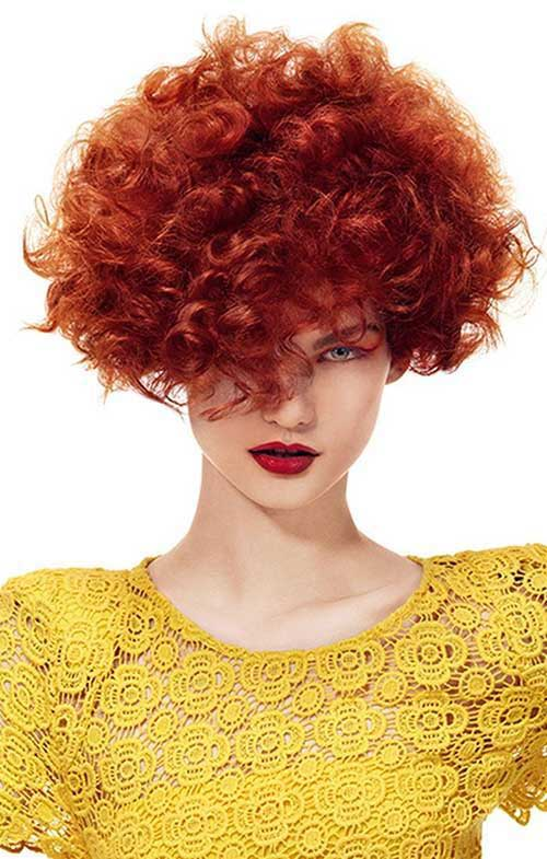 Latest Curly Short Hairstyles 2015-15