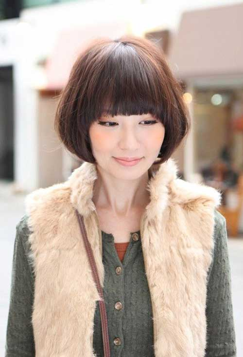 Short Haircuts for Asian Women-16