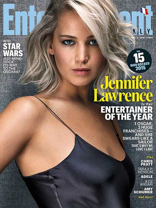 Jennifer Lawrence with Short Hair-17