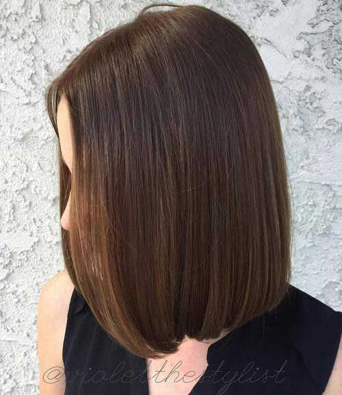 Haircut for thin hair oval face