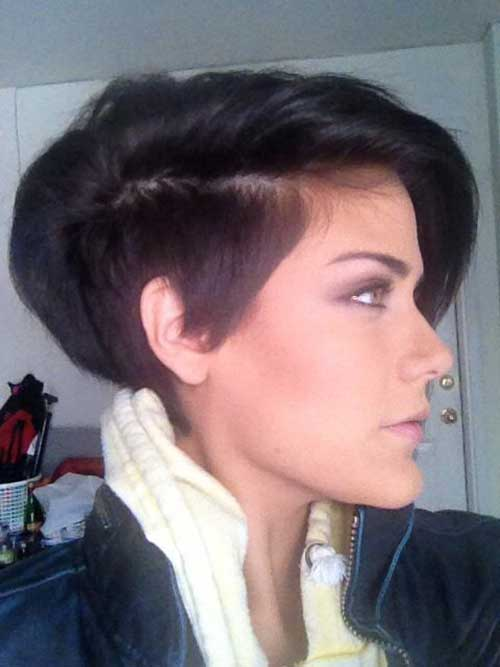 Hairstyles for Short Length Hair-18
