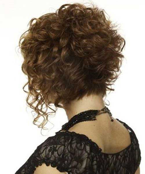Latest Curly Short Hairstyles 2015-18