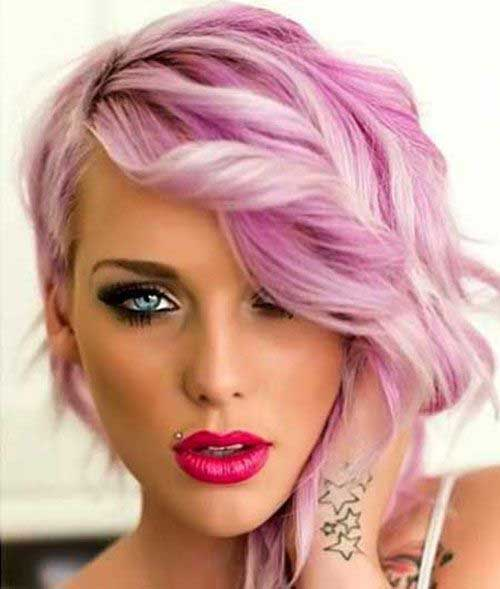 Latest Curly Short Hairstyles 2015-19