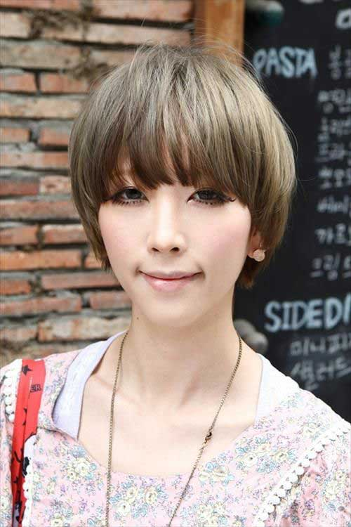 Short Haircuts for Asian Women-19