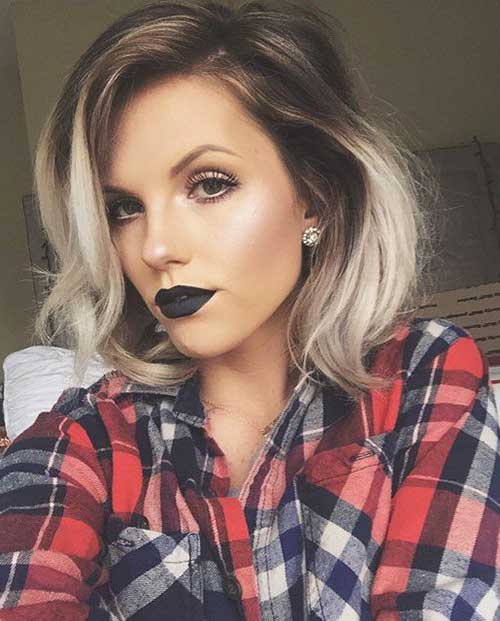 Ombre Hair Color For Short Hair-20