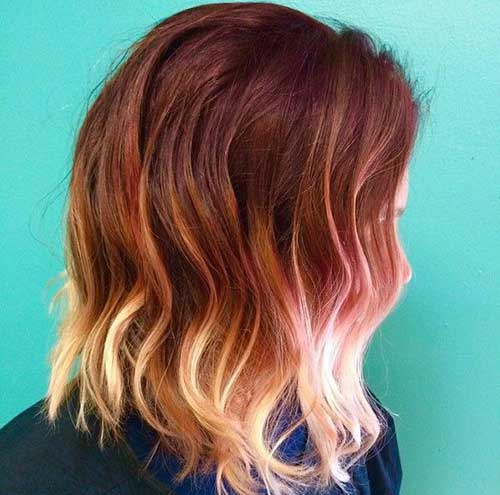 Ombre Hair Color For Short Hair-21