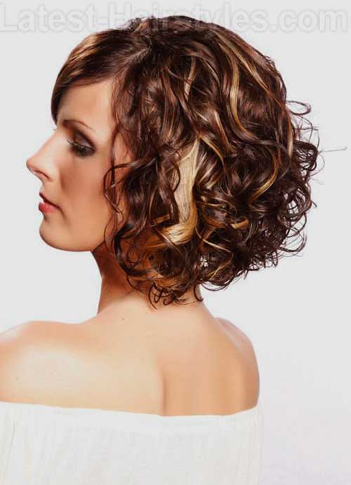 Latest Curly Short Hairstyles 2015-22