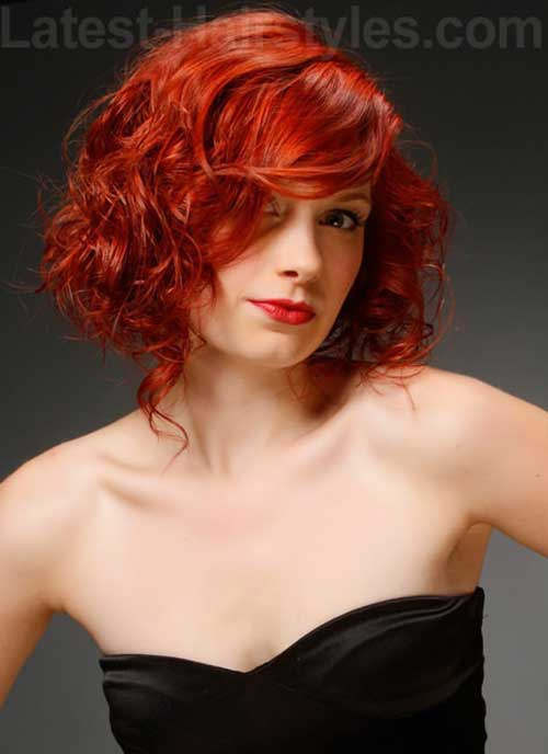 Latest Curly Short Hairstyles 2015-23