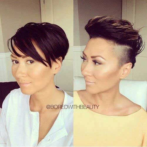 Layered Haircuts for Short Hair-23