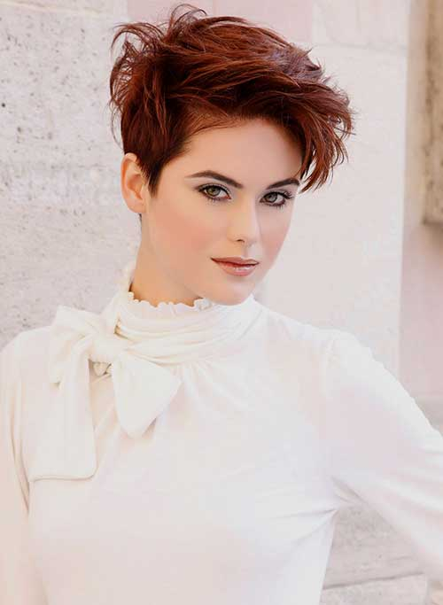 Short Hair Colors 2015-23