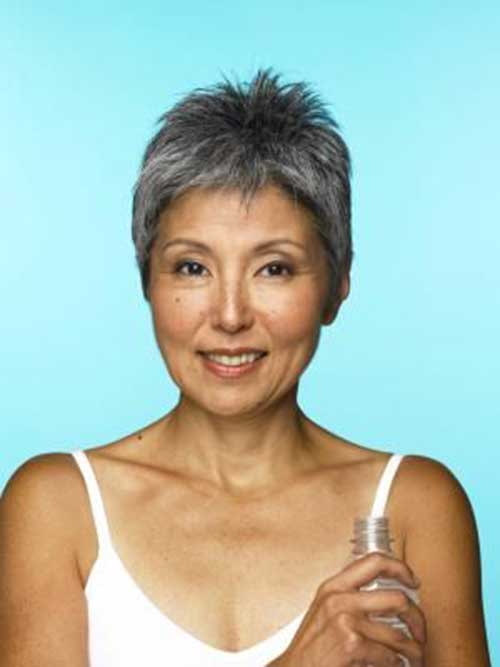 Short Hair For Women Over 60-23