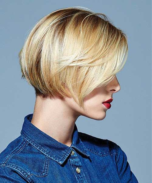 Short Blonde Hairstyles 2015-24