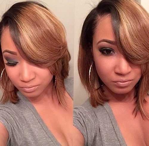 Trendy Hairstyles for Short Hair-24