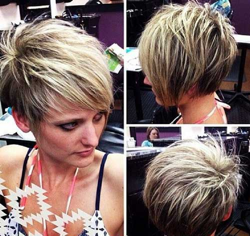 Trendy Hairstyles for Short Hair-25